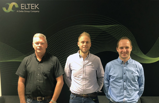 Three Eltek employees