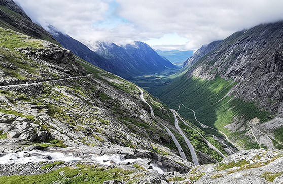 Scenery from Trollstigen