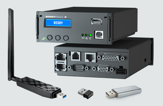 Devices for Smartpack R connectivity
