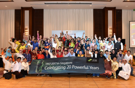 Celebrating 20 powerful years in Singapore
